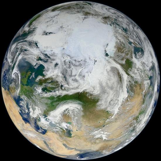 Земля из космоса 2012