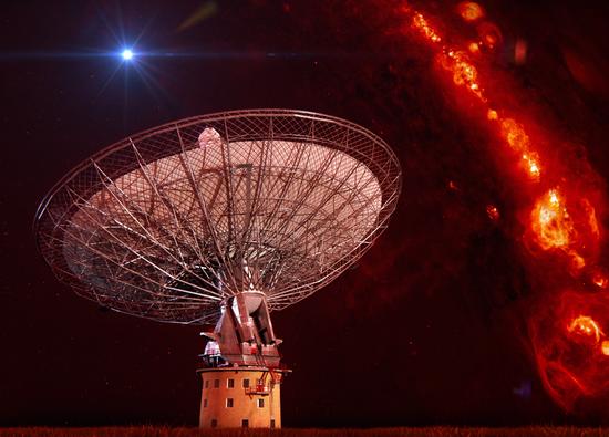 Радиотелескоп CSIRO Parkes в Австралии