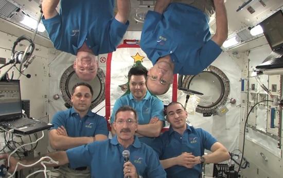 Патриарх Кирилл поздравил экипаж МКС с Рождеством