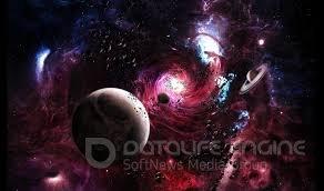 Космос - огромное пространство заполнено небесными телами