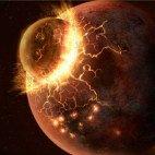Теория о столкновении, породившем Луну, получает новое подтверждение...