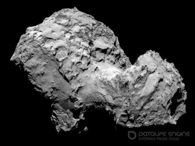 Мир впервые увидел фотографию поверхности кометы
